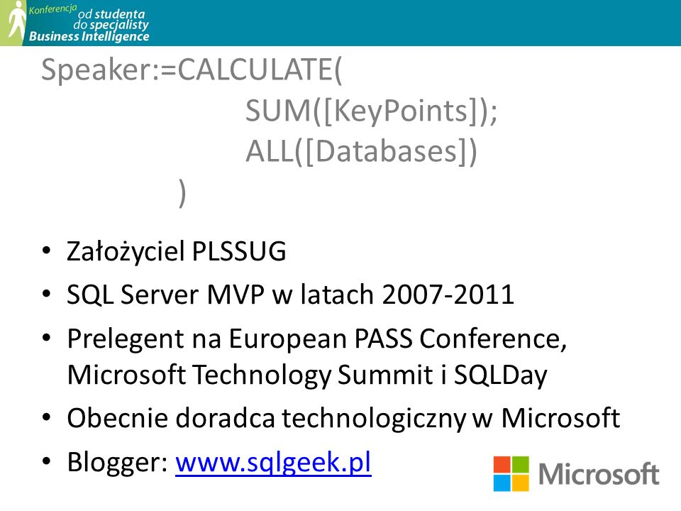 Speaker:=CALCULATE( SUM([KeyPoints]); ALL([Databases]) )